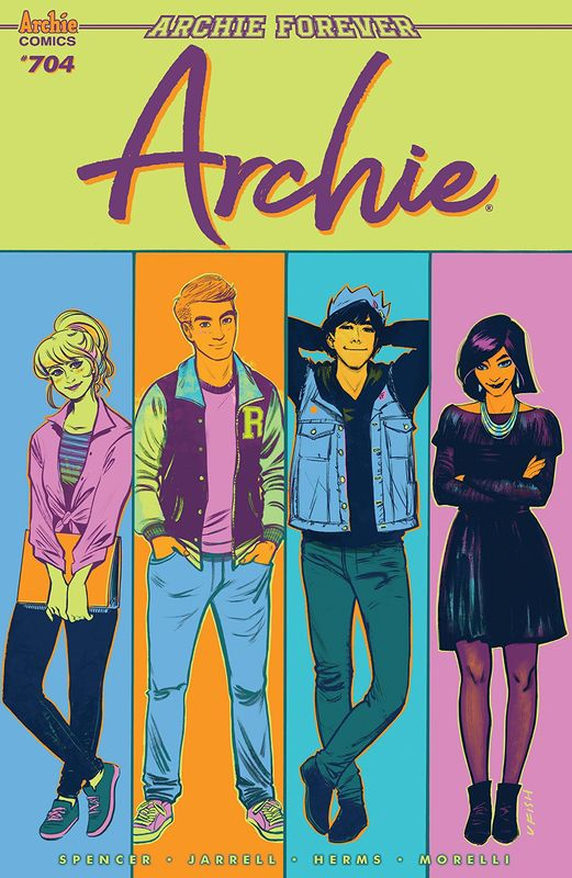 Archie - #704 (Cover A) by Nick Spencer