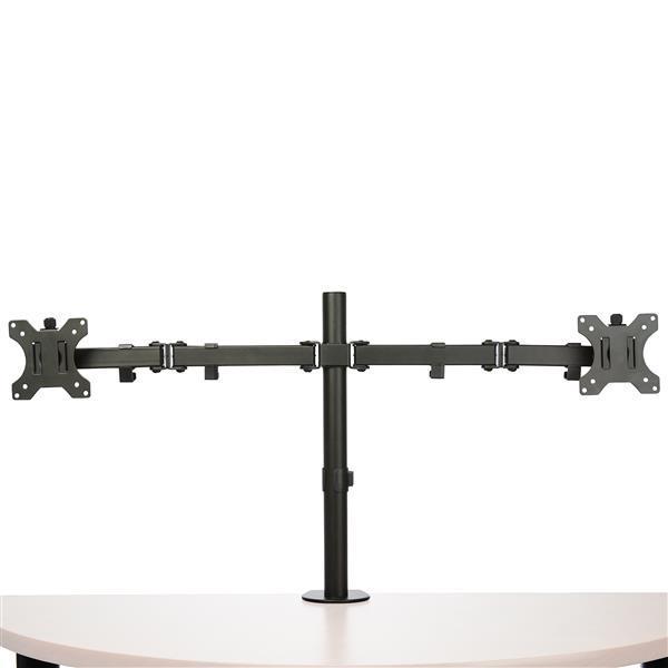 StarTech Dual Monitor Crossbar Desk Mount Arm Steel