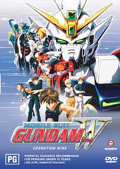 Gundam Wing - 9 on DVD