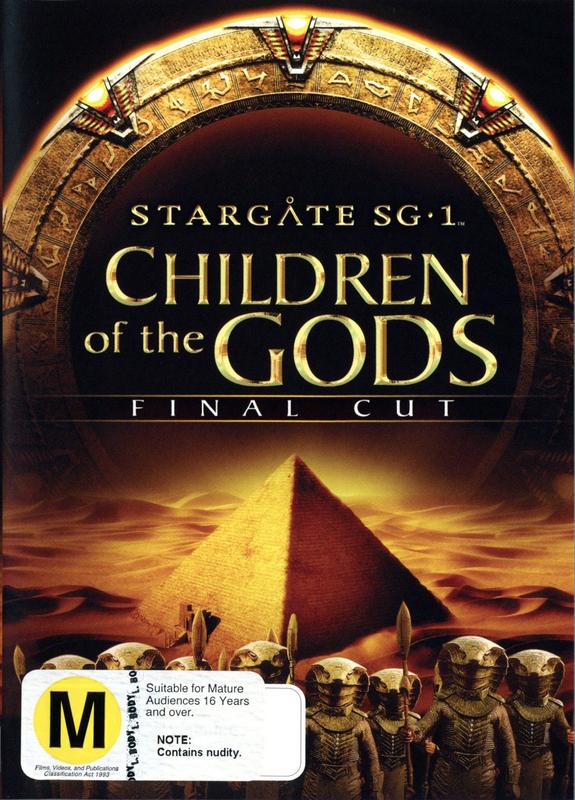 Stargate SG-1: Children of the Gods on DVD