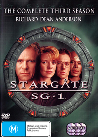 Stargate SG-1 - Season 3 on DVD