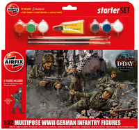 Airfix Kitset - Starter Set Medium - WWII German Infantry