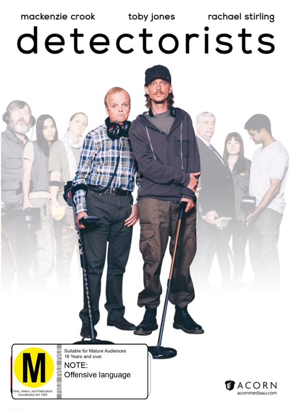 Detectorists (Season One) on DVD