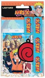 Naruto: Lanyard with Rubber Keychain - Logo