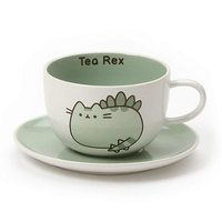 Pusheen: Tea-Rex - Tea Cup & Saucer Set