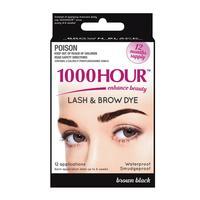 1000 Hour Eyelash Tint - Brown/Black