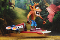 "Crash Bandicoot: Hoverboard Crash - 7"" Deluxe Action Figure image"