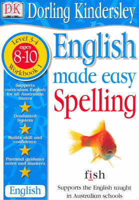 English Made Easy: Spelling: Level 3-4, Workbook 1 by Dorling Kindersley image