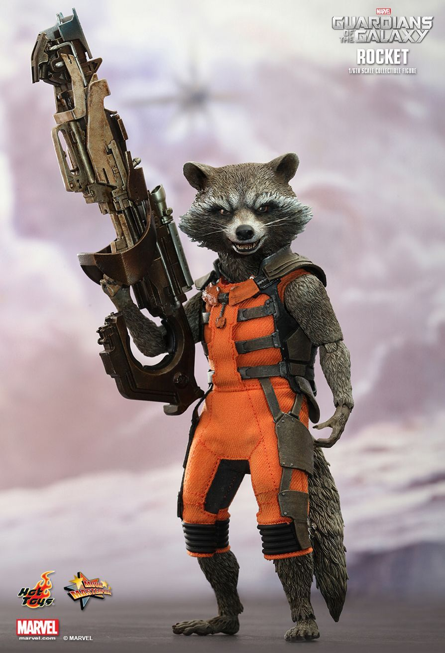Rocket Raccoon 1 6 Action Figure at Mighty Ape NZ