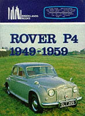 Rover P4, 1949-59