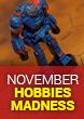November Hobbies Madness!