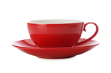 Maxwell & Williams Colour Basics Cup & Saucer - Red (200ml)