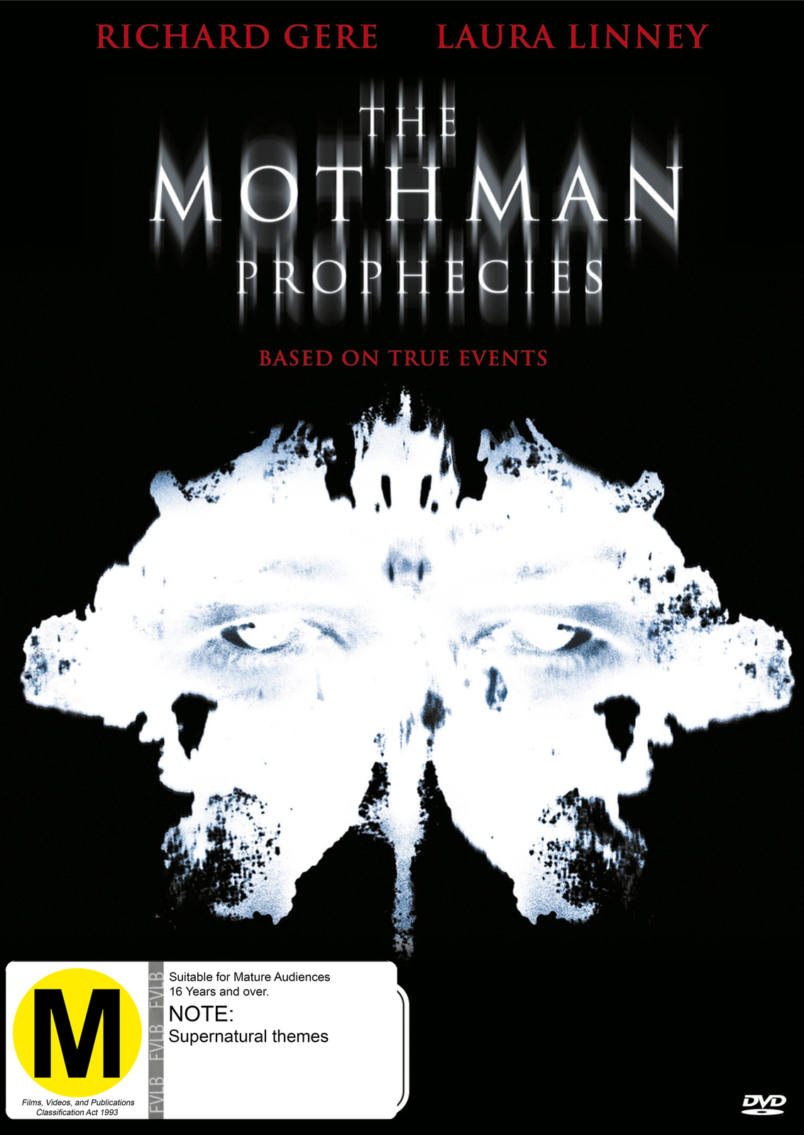 The Mothman Prophecies (2 Disc Special Edition) on DVD image