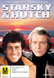 Starsky & Hutch (Season 3) DVD