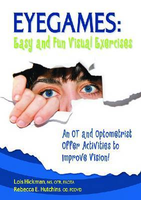 Eyegames: Easy and Fun Visual Exercises by Lois Hickman image