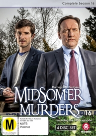 Midsomer Murders - Complete Season 16 on DVD