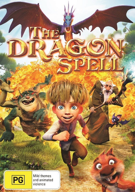 The Dragon Spell on DVD