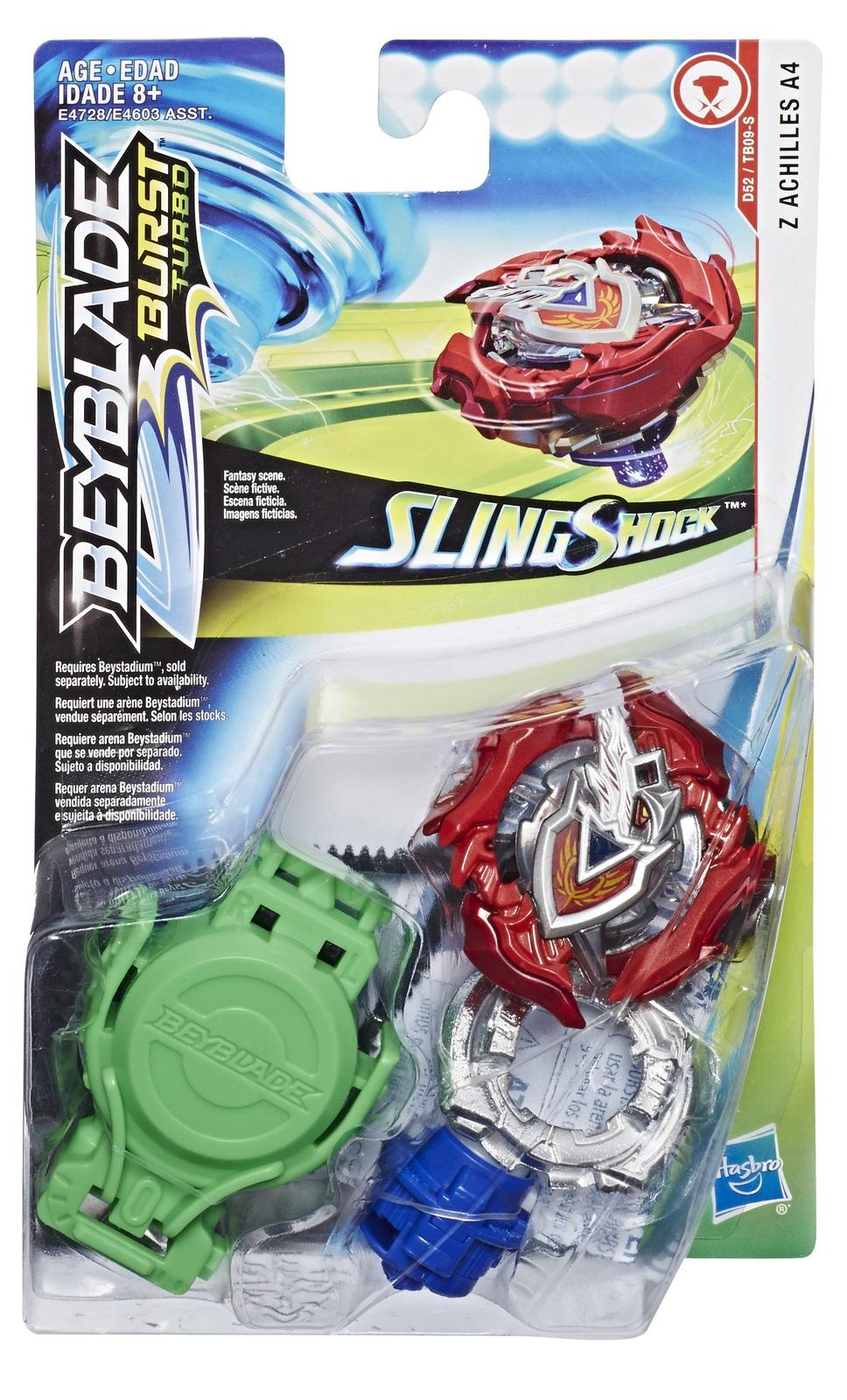 Beyblade Burst: Slingshock Starter Pack - (Z Achilles A4) image