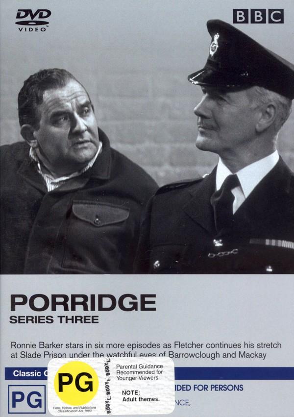 Porridge - Series 3 on DVD image