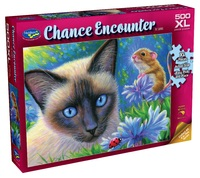 Holdson: 500-Piece XL Puzzle - Chance Encounter (The Ladybug)