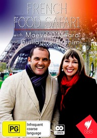 French Food Safari on DVD