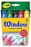 Crayola - 5 Washable Window Crayons