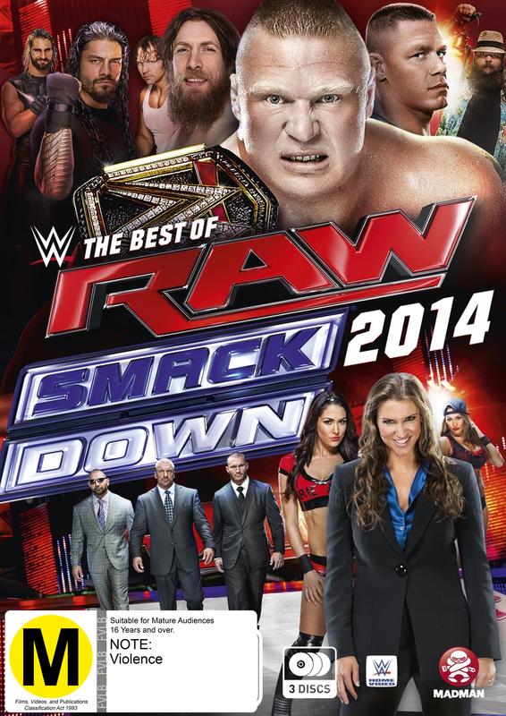 WWE: Best Of Raw & Smackdown 2014 on DVD