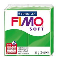 Staedtler Fimo Soft Modelling Clay Block - Tropical Green (56g)