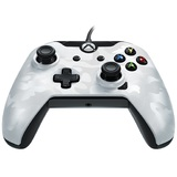 PDP Wired Controller for Xbox One - Camo White for Xbox One