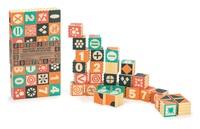 Uncle Goose: Groovie Math Patterning Block Set (28pc)