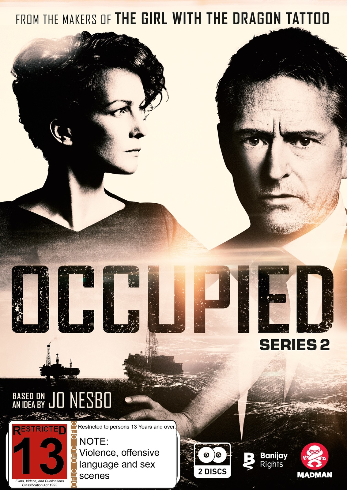 Occupied: Series 2 on DVD image