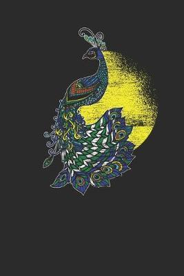 Peacock Sunset Silhouette by Peacock Publishing