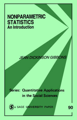 Nonparametric Statistics by Jean D. Gibbons Fielden image