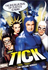 The Tick on DVD