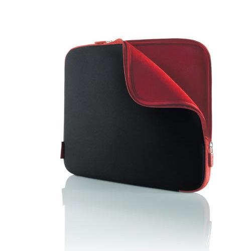 "Belkin 17"" Notebook Sleeve Jet/Cabernet"