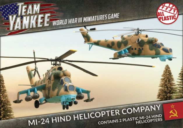 Flames of War: Team Yankee - Mi-24 Hind Helicopter Company