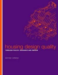 Housing Design Quality by Matthew Carmona image