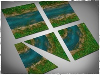 DeepCut Studios Clear River Tiles Set