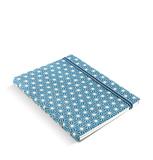 Filofax - A5 Notebook - Impressions (Blue & White)