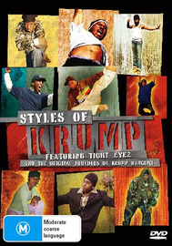 Styles of Krump - Feat Tight Eyez on DVD