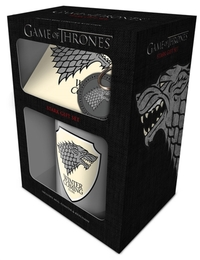 Game Of Thrones - Stark (Mug & Coaster & Keychain)