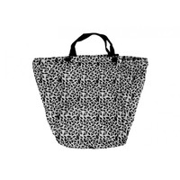 Annabel Trends Trolley Bag - Black Leaf
