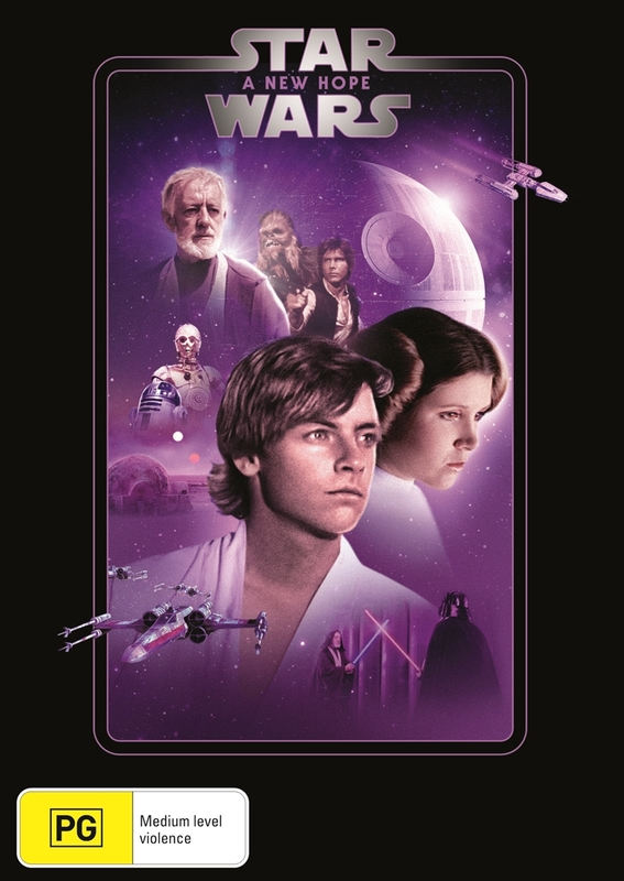 Star Wars: Episode IV - A New Hope on DVD