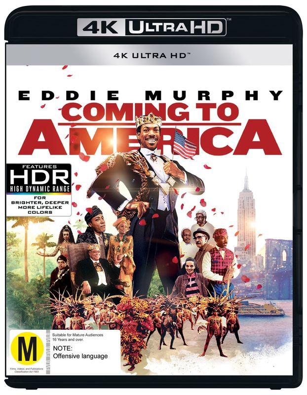 Coming To America (4K UHD) on UHD Blu-ray