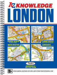 London Knowledge Atlas by Geographers A-Z Map Company