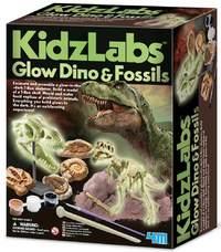 4M: Kidz Labs - Glow Dino and Fossils Kit