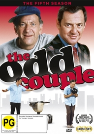 The Odd Couple - The Fifth Season on DVD