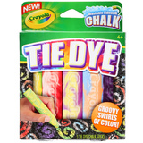 Crayola: Special Effects Sidewalk Chalk - Tie Dye