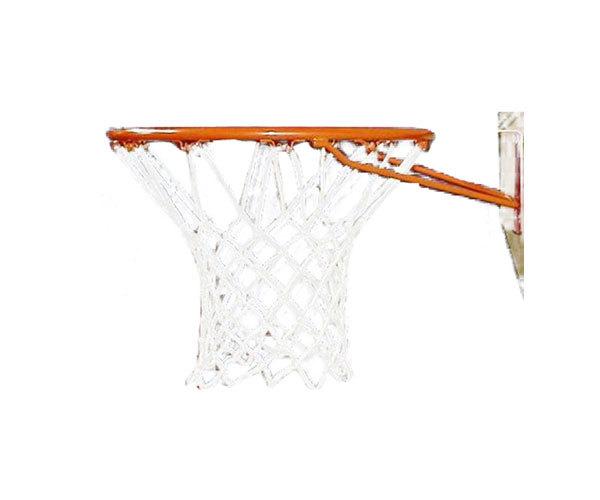 Netball/Basketball Net - Standard (White Nylon)