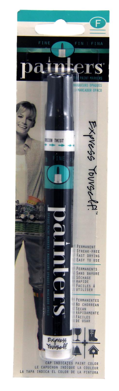 Painters Acrylic Paint Markers - Black Fine image
